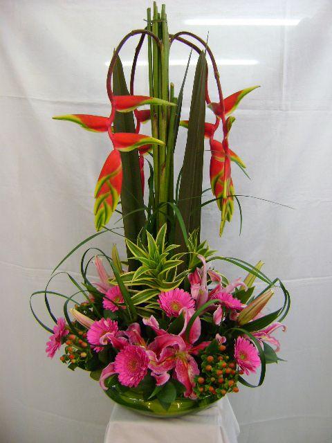 Diseños florales con Orquideas en Bogota