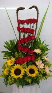 Arreglos florales con girasoles en Bogotá